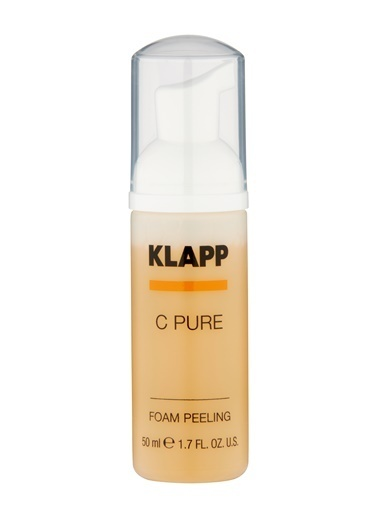 C PURE Face Foam Peeling 50 Ml Promo-Klapp